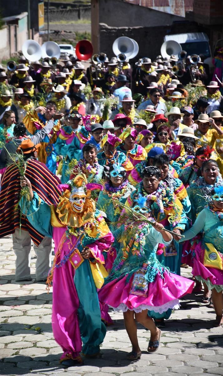 Silvia Benito - Carnaval de Huari, Oruro