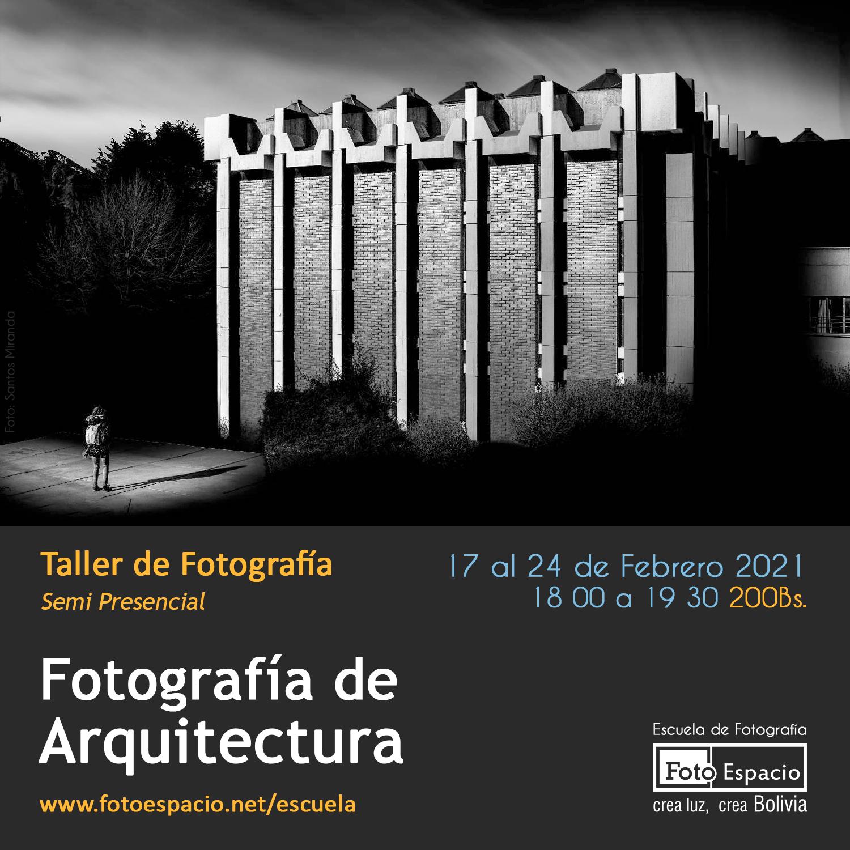Taller: Fotografía de Arquitectura