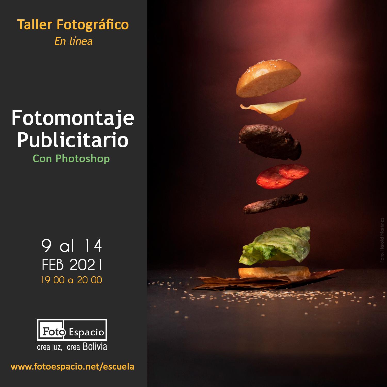 Taller Fotomontaje Publicitario