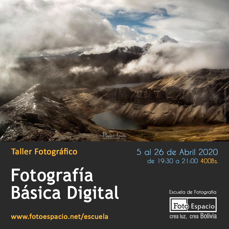 Taller Básico de Fotografía Digital